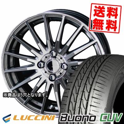 195/65R15 91H LUCCINI ルッチーニ Buono Drive ヴォーノ ドライヴ CIRCLAR VERSION DF サーキュラー バージョン DF サマータイヤホイール4本セット