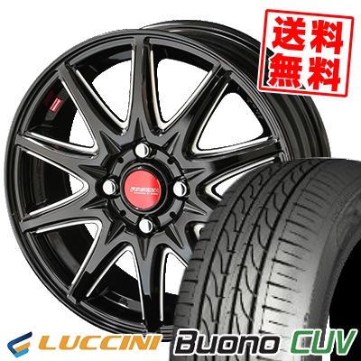 185/55R15 82V LUCCINI ルッチーニ Buono Drive ヴォーノ ドライヴ RIVAZZA CORSE リヴァッツァ コルセ サマータイヤホイール4本セット