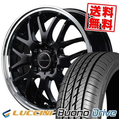 185/55R15 82V LUCCINI ルッチーニ Buono Drive ヴォーノ ドライヴ VERTEC ONE EXE10 ヴァーテックワン エグゼ10 サマータイヤホイール4本セット