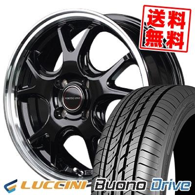 185/55R15 82V LUCCINI ルッチーニ Buono Drive ヴォーノ ドライヴ VERTEC ONE EXE5 ヴァーテックワン エグゼ5 サマータイヤホイール4本セット