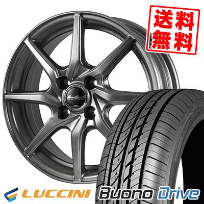 155/65R14 75H LUCCINI ルッチーニ Buono Drive ヴォーノ ドライヴ EuroSpeed G810 ユーロスピード G810 サマータイヤホイール4本セット