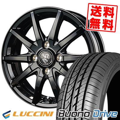 155/55R14 69V LUCCINI ルッチーニ Buono Drive ヴォーノ ドライヴ TRG-GB10 TRG GB10 サマータイヤホイール4本セット