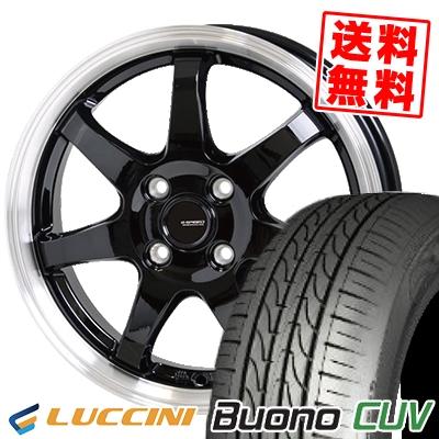 185/55R15 82V LUCCINI ルッチーニ Buono Drive ヴォーノ ドライヴ G.speed P-03 ジースピード P-03 サマータイヤホイール4本セット【取付対象】