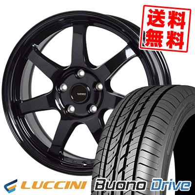 215/65R15 100H XL LUCCINI ルッチーニ Buono Drive ヴォーノ ドライヴ G.speed G-03 Gスピード G-03 サマータイヤホイール4本セット