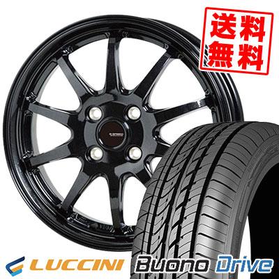 205/50R16 87V LUCCINI ルッチーニ Buono Drive ヴォーノ ドライヴ G.speed G-04 Gスピード G-04 サマータイヤホイール4本セット