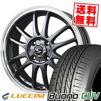 205/50R16 87V LUCCINI ルッチーニ Buono Drive ヴォーノ ドライヴ BADX S-HOLD LAGUNA バドックス エスホールド ラグナ サマータイヤホイール4本セット