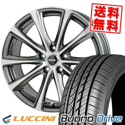 215/65R15 100H XL LUCCINI ルッチーニ Buono Drive ヴォーノ ドライヴ Laffite LE-04 ラフィット LE-04 サマータイヤホイール4本セット