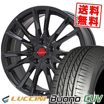 205/65R15 LUCCINI ルッチーニ Buono Drive ヴォーノ ドライヴ LeyBahn GBX レイバーン GBX サマータイヤホイール4本セット