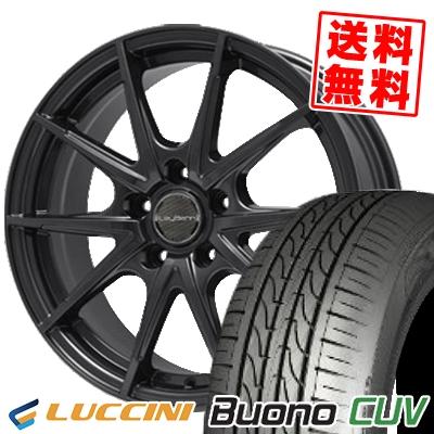 205/65R15 LUCCINI ルッチーニ Buono Drive ヴォーノ ドライヴ LeyBahn WGS レイバーン WGS サマータイヤホイール4本セット