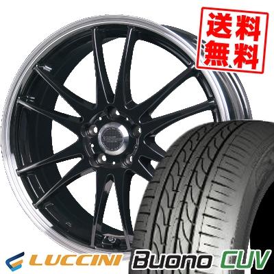 205/65R15 95H LUCCINI ルッチーニ Buono Drive ヴォーノ ドライヴ CROSS SPEED PREMIUM 6 Light クロススピード プレミアム 6 ライト サマータイヤホイール4本セット