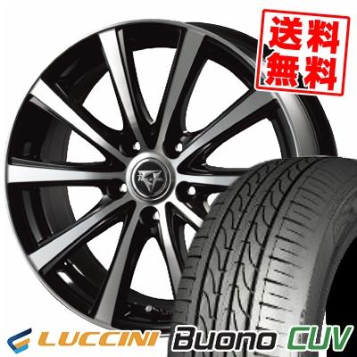 205/55R16 91V LUCCINI ルッチーニ Buono Drive ヴォーノ ドライヴ Razee XV レイジー XV サマータイヤホイール4本セット
