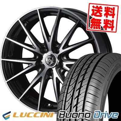 205/65R15 95H LUCCINI ルッチーニ Buono Drive ヴォーノ ドライヴ WEDS RIZLEY VS ウェッズ ライツレー VS サマータイヤホイール4本セット