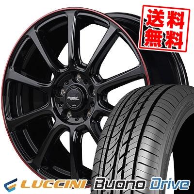 205/65R15 95H LUCCINI ルッチーニ Buono Drive ヴォーノ ドライヴ Rapid Performance ZX10 ラピッド パフォーマンス ZX10 サマータイヤホイール4本セット