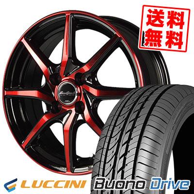 155/65R14 75H LUCCINI ルッチーニ Buono Drive ヴォーノ ドライヴ EuroSpeed S810 ユーロスピード S810 サマータイヤホイール4本セット