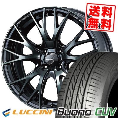 185/55R15 LUCCINI ルッチーニ Buono Drive ヴォーノ ドライヴ WedsSport SA-20R ウェッズスポーツ SA20R サマータイヤホイール4本セット
