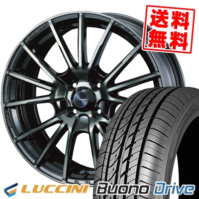 205/50R16 87V LUCCINI ルッチーニ Buono Drive ヴォーノ ドライヴ WedsSport SA-35R ウェッズスポーツ SA-35R サマータイヤホイール4本セット