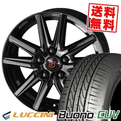 205/55R16 91V LUCCINI ルッチーニ Buono Drive ヴォーノ ドライヴ SEIN SS BLACK EDITION ザイン エスエス ブラックエディション サマータイヤホイール4本セット【取付対象】
