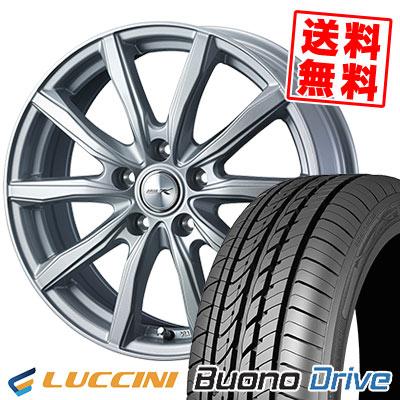 205/65R16 95H LUCCINI ルッチーニ Buono Drive ヴォーノ ドライヴ JOKER SHAKE ジョーカー シェイク サマータイヤホイール4本セット