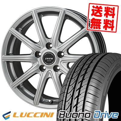 205/65R16 95H LUCCINI ルッチーニ Buono Drive ヴォーノ ドライヴ ZACK SPORT-01 ザック シュポルト01 サマータイヤホイール4本セット