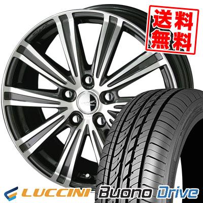 215/65R15 100H XL LUCCINI ルッチーニ Buono Drive ヴォーノ ドライヴ SMACK SPARROW スマック スパロー サマータイヤホイール4本セット
