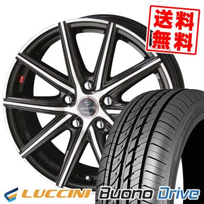 205/65R15 95H LUCCINI ルッチーニ Buono Drive ヴォーノ ドライヴ SMACK PRIME SERIES VANISH スマック プライムシリーズ ヴァニッシュ サマータイヤホイール4本セット