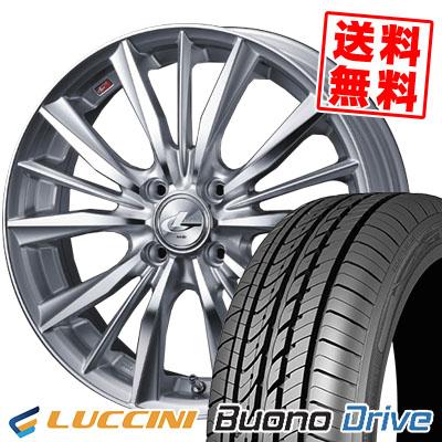 205/50R16 87V LUCCINI ルッチーニ Buono Drive ヴォーノ ドライヴ weds LEONIS VX ウエッズ レオニス VX サマータイヤホイール4本セット