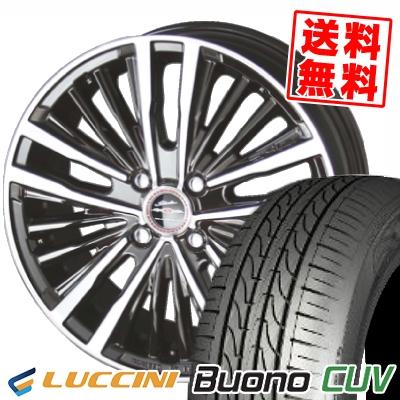 205/50R16 87V LUCCINI ルッチーニ Buono Drive ヴォーノ ドライヴ SHALLEN XR-75 MONOBLOCK シャレン XR75 モノブロック サマータイヤホイール4本セット【取付対象】