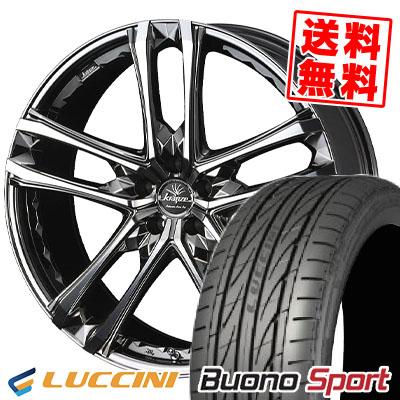 235/40R18 95W XL LUCCINI ルッチーニ Buono Sport ヴォーノ スポーツ weds Kranze Scintill 168EVO ウェッズ クレンツェ シンティル 168エボ サマータイヤホイール4本セット