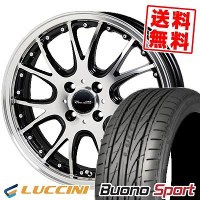 195/45R16 84V XL LUCCINI ルッチーニ Buono Sport ヴォーノ スポーツ Precious AST M2 プレシャス アスト M2 サマータイヤホイール4本セット