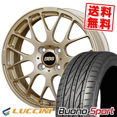 16インチ LUCCINI ルッチーニ スーパーセール Buono Sport ヴォーノ スポーツ 205 45 サマータイヤホイール4本セット サマーホイールセット 205-45-16 BBS 取付対象 RP 16 45R16 ギフト プレゼント ご褒美