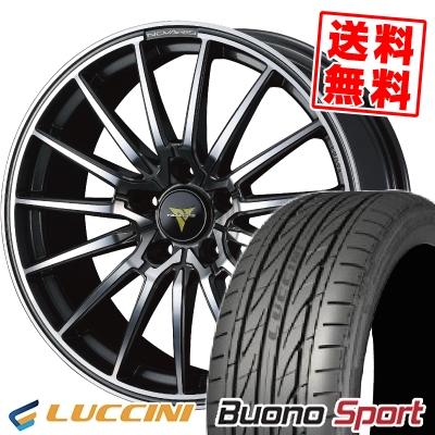 235/40R18 95W XL LUCCINI ルッチーニ Buono Sport ヴォーノ スポーツ WEDS NOVARIS BEONDE FL ウェッズ ノヴァリス ビオンド FL サマータイヤホイール4本セット