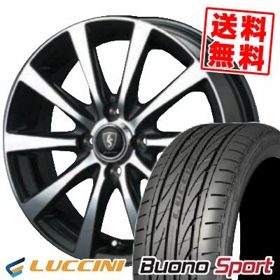 195/45R16 84V XL LUCCINI ルッチーニ Buono Sport ヴォーノ スポーツ EuroSpeed BL10 ユーロスピード BL10 サマータイヤホイール4本セット