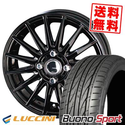 205/45R16 87V XL LUCCINI ルッチーニ Buono Sport ヴォーノ スポーツ CIRCLAR VERSION DF サーキュラー バージョン DF サマータイヤホイール4本セット