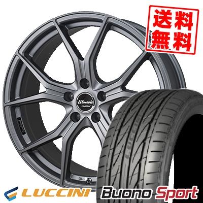 245/45R18 100W XL LUCCINI ルッチーニ Buono Sport ヴォーノ スポーツ MONZA Warwic Coulthard モンツァ ワーウィック クルサード サマータイヤホイール4本セット【取付対象】