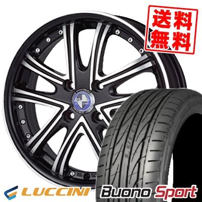 195/45R16 LUCCINI ルッチーニ Buono Sport ヴォーノ スポーツ Warwic DS.05 ワーウィック DS.05 サマータイヤホイール4本セット