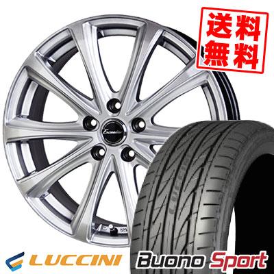 235/40R18 95W XL LUCCINI ルッチーニ Buono Sport ヴォーノ スポーツ Exceeder E04 エクシーダー E04 サマータイヤホイール4本セット
