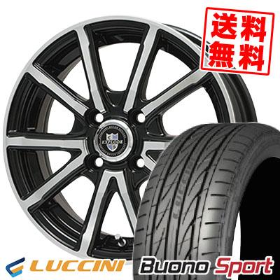 205/45R16 LUCCINI ルッチーニ Buono Sport ヴォーノ スポーツ EXPLODE-BPV エクスプラウド BPV サマータイヤホイール4本セット