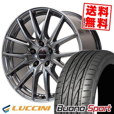 215/45R17 91W XL LUCCINI ルッチーニ Buono Sport ヴォーノ スポーツ VERTEC ONE Eins.1 ヴァーテック ワン アインス ワン サマータイヤホイール4本セット
