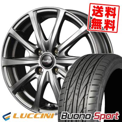165/50R15 LUCCINI ルッチーニ Buono Sport ヴォーノ スポーツ EuroSpeed V25 ユーロスピード V25 サマータイヤホイール4本セット