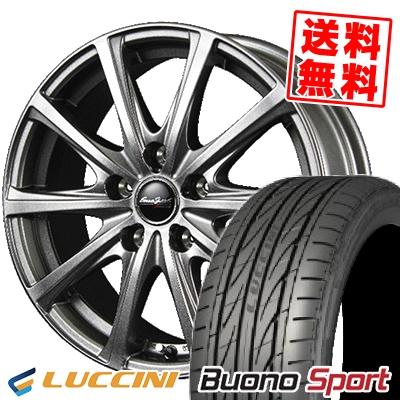 215/40R18 LUCCINI ルッチーニ Buono Sport ヴォーノ スポーツ EuroSpeed V25 ユーロスピード V25 サマータイヤホイール4本セット