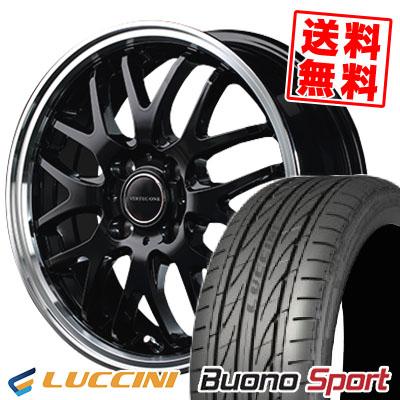 165/55R15 75V LUCCINI ルッチーニ Buono Sport ヴォーノ スポーツ VERTEC ONE EXE10 ヴァーテックワン エグゼ10 サマータイヤホイール4本セット
