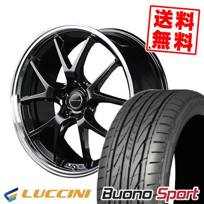 215/40R18 89W XL LUCCINI ルッチーニ Buono Sport ヴォーノ スポーツ VERTEC ONE EXE5 ヴァーテックワン エグゼ5 サマータイヤホイール4本セット