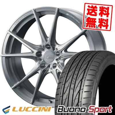 215/40R18 89W XL LUCCINI ルッチーニ Buono Sport ヴォーノ スポーツ WEDS F ZERO FZ-2 ウェッズ エフゼロ FZ-2 サマータイヤホイール4本セット