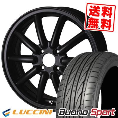 165/55R14 LUCCINI ルッチーニ Buono Sport ヴォーノ スポーツ Fenice RX1 フェニーチェ RX1 サマータイヤホイール4本セット