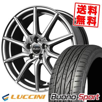225/45R18 95H XL LUCCINI ルッチーニ Buono Sport ヴォーノ スポーツ EuroSpeed G810 ユーロスピード G810 サマータイヤホイール4本セット