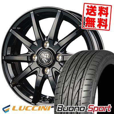 195/50R15 82V LUCCINI ルッチーニ Buono Sport ヴォーノ スポーツ TRG-GB10 TRG GB10 サマータイヤホイール4本セット
