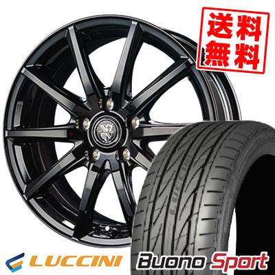 215/55R16 97V XL LUCCINI ルッチーニ Buono Sport ヴォーノ スポーツ TRG-GB10 TRG GB10 サマータイヤホイール4本セット