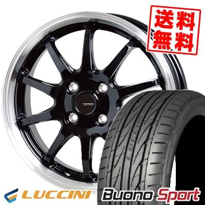 205/40R17 84W XL LUCCINI ルッチーニ Buono Sport ヴォーノ スポーツ G.speed P-04 ジースピード P-04 サマータイヤホイール4本セット【取付対象】