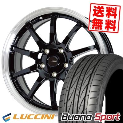 215/60R17 96H LUCCINI ルッチーニ Buono Sport ヴォーノ スポーツ G.speed P-04 ジースピード P-04 サマータイヤホイール4本セット