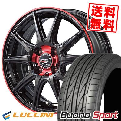 195/50R15 82V LUCCINI ルッチーニ Buono Sport ヴォーノ スポーツ FINALSPEED GR-Volt ファイナルスピード GRボルト サマータイヤホイール4本セット
